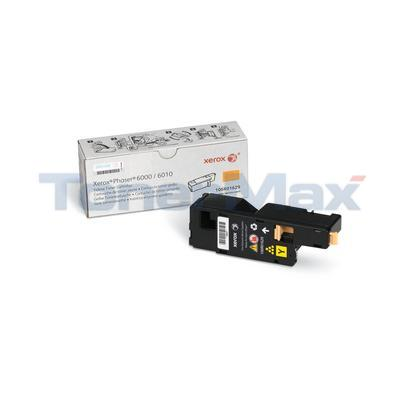 XEROX PHASER 6000 TONER CARTRIDGE YELLOW